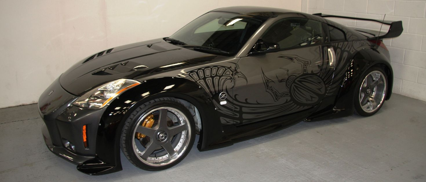 Now's Your Chance To Buy The Nissan 350Z From F&F Tokyo Drift