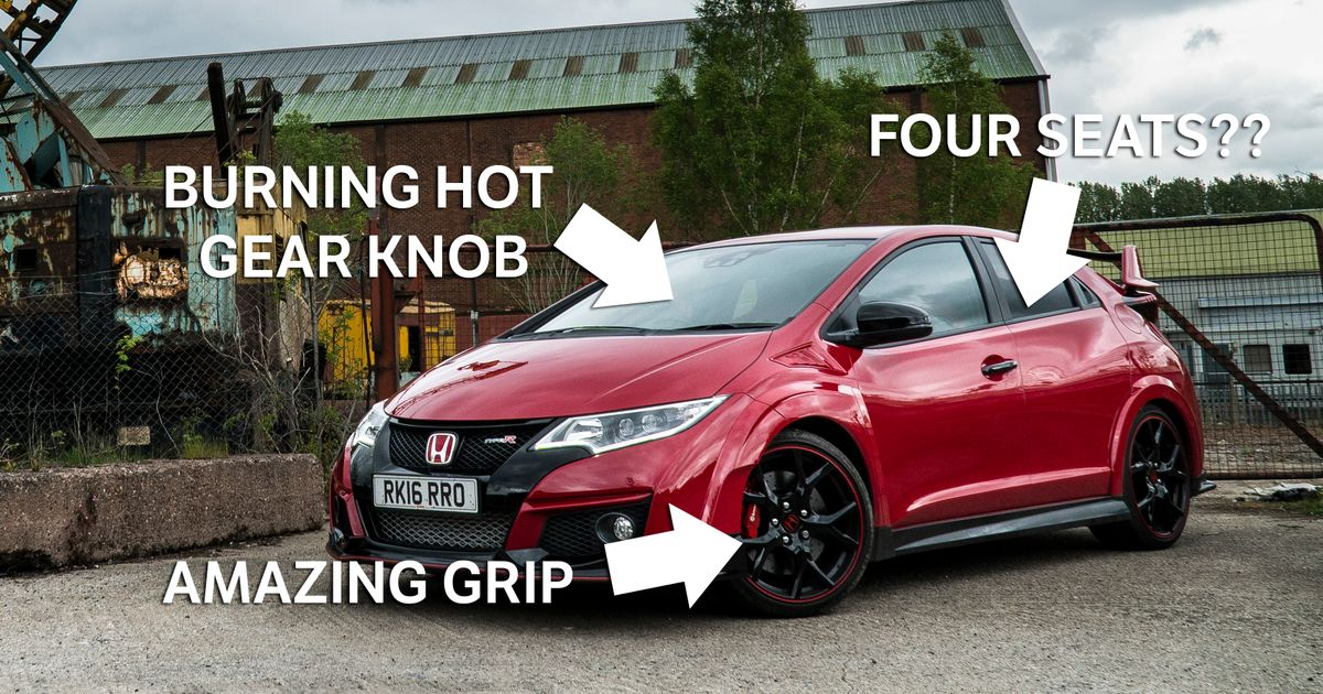 8 things i learned after one month of honda civic type r 39 ownership 39. Black Bedroom Furniture Sets. Home Design Ideas