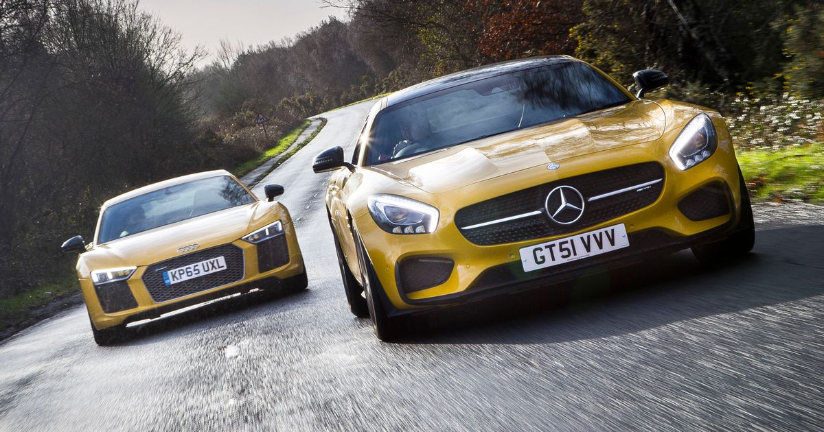 R8 Battering Ram Vs Amg Gt S Sex Bomb Which Supercar