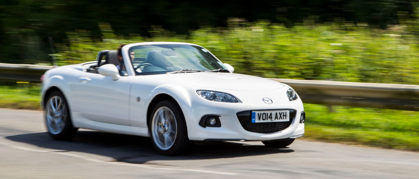 Driving the 2014 mazda mx 5 made me forget all about my mk2 miata resentment