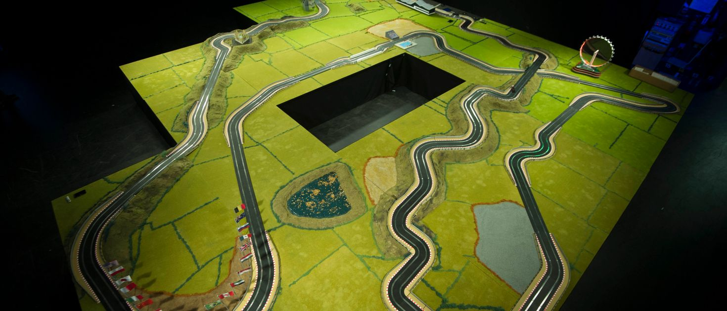 The Biggest Race Track In Scalextric History Is Going Up