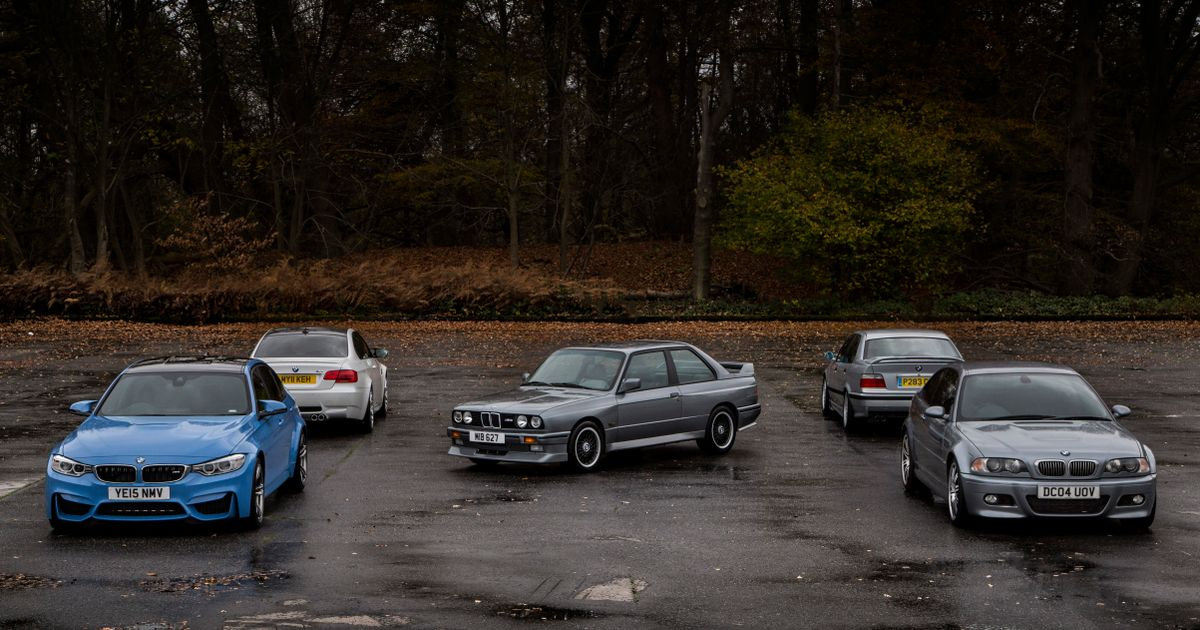 I Drove Every BMW M3 Generation In One Day, And Now I'm In