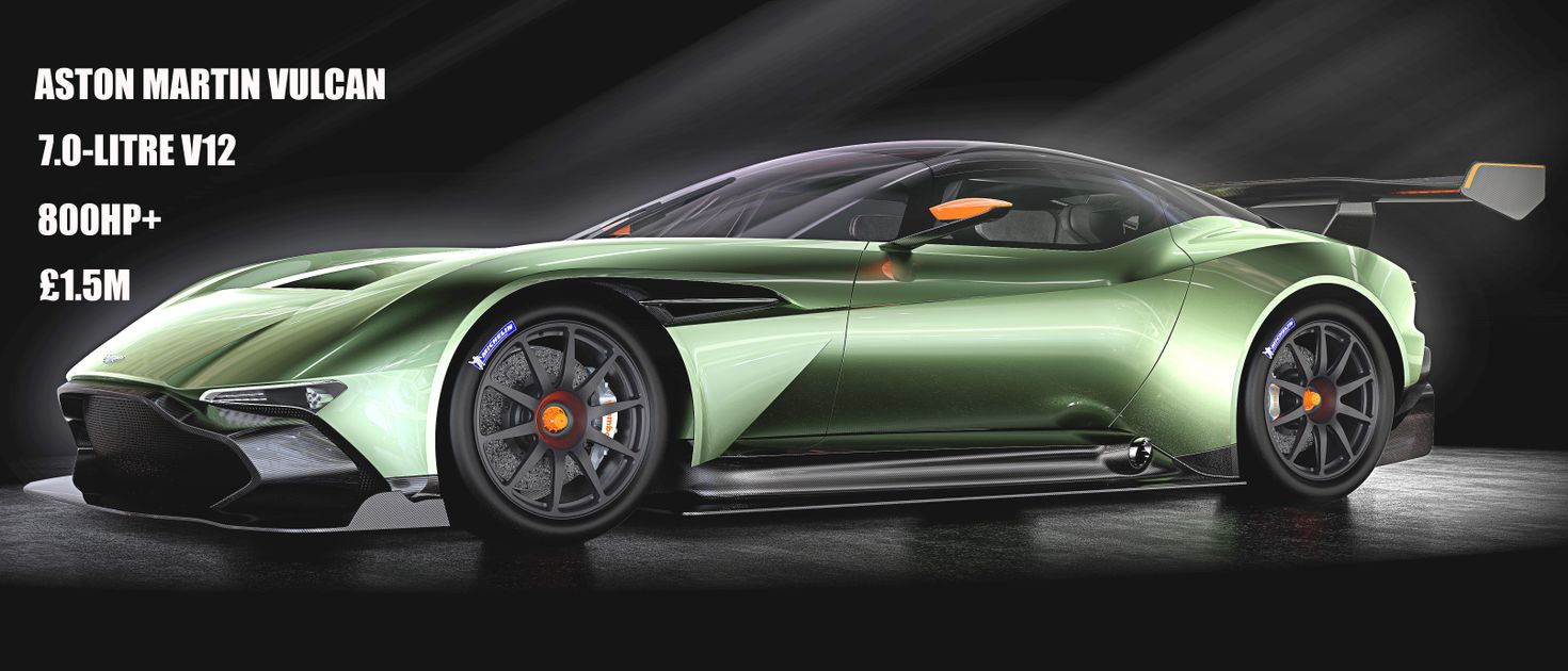 Say Hello To The 800hp Vulcan The Most Intense Aston Martin In History