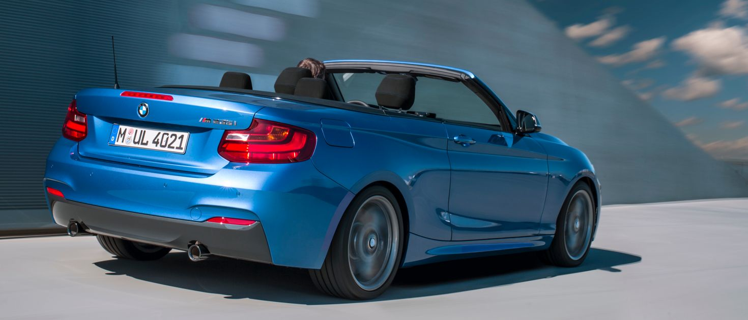 BMWs Hot New M235i Convertible Is A Car Weve All Got Time For