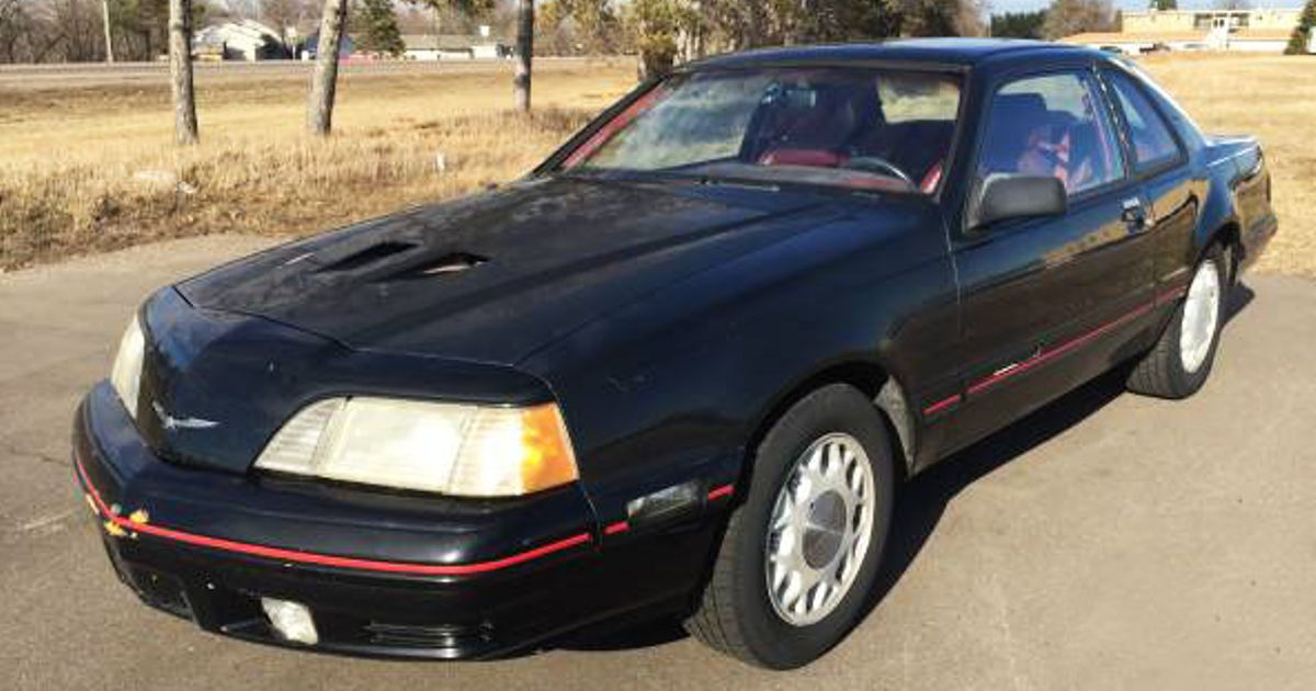 Heres The Inexpensive 1988 Thunderbird Turbo Coupe Youve Been
