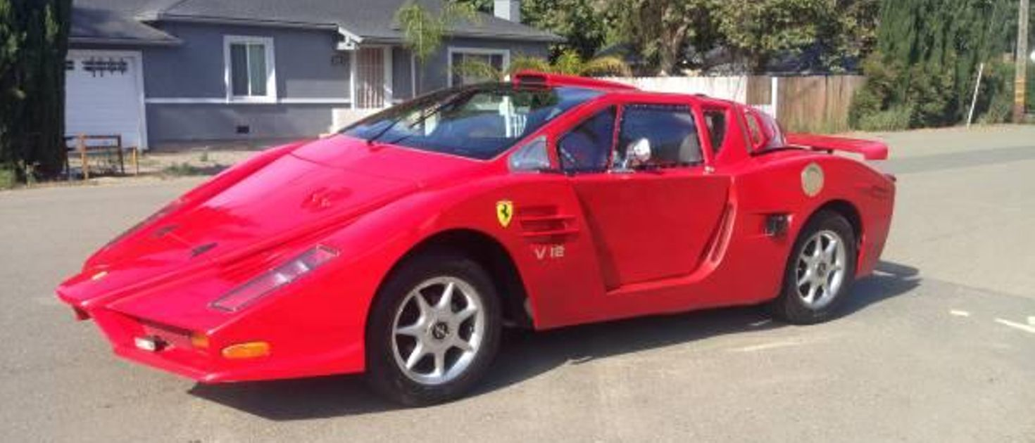 This Might Just Be The Worst Ferrari Replica Known To