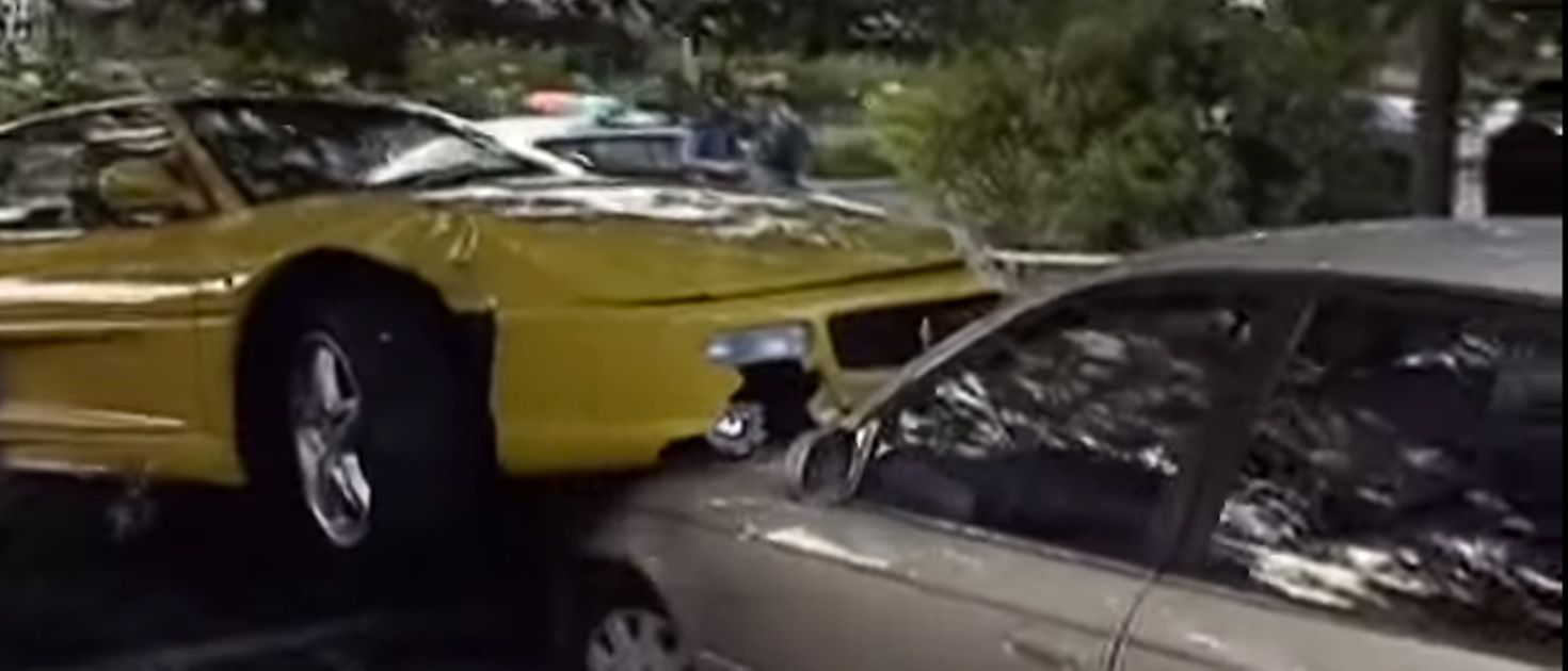 If You Borrow A Ferrari 355 And Leave It Like This, You