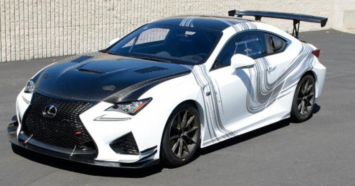 Build A Lexus >> This Is The Hardcore Rc F We Desperately Want Lexus To Build
