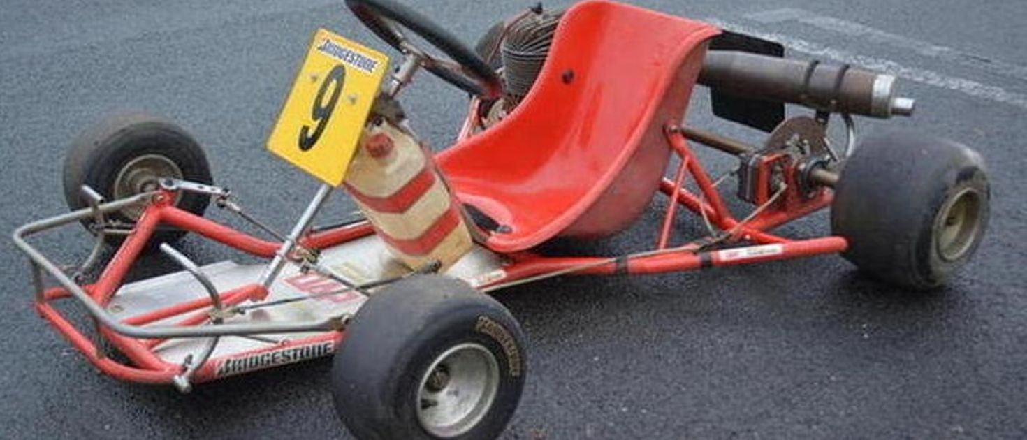 Now\'s Your Chance To Own Ayrton Senna\'s Old Go-Kart