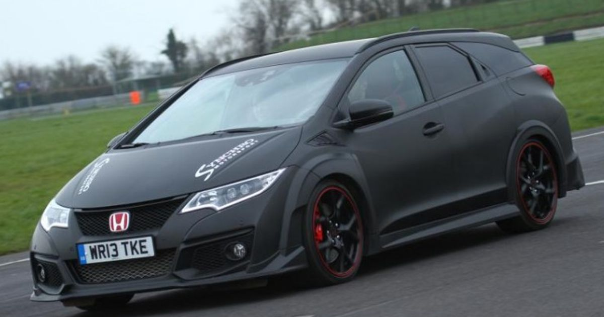 This Civic Tourer Type R Is The Car We Want Honda To Build