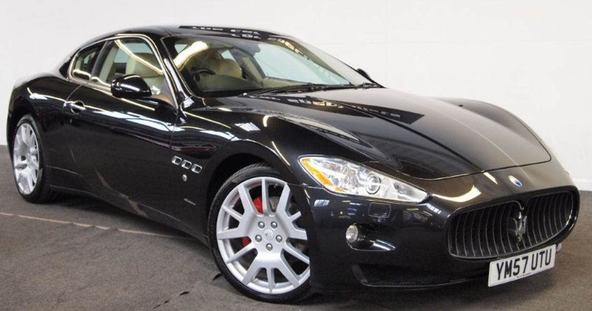 a used maserati gran turismo might just be the prettiest car you can buy for 30k. Black Bedroom Furniture Sets. Home Design Ideas