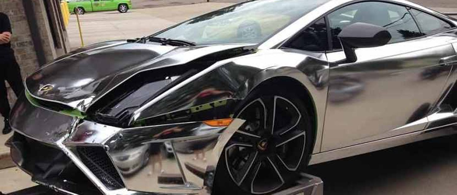 This Young Girl S Chrome Lambo Birthday Present Got Its