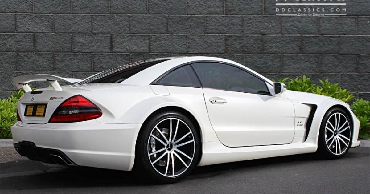 This Monstrous Mercedes Sl65 Amg Black Series Could Be Yours If You Ve A Spare Quarter Million