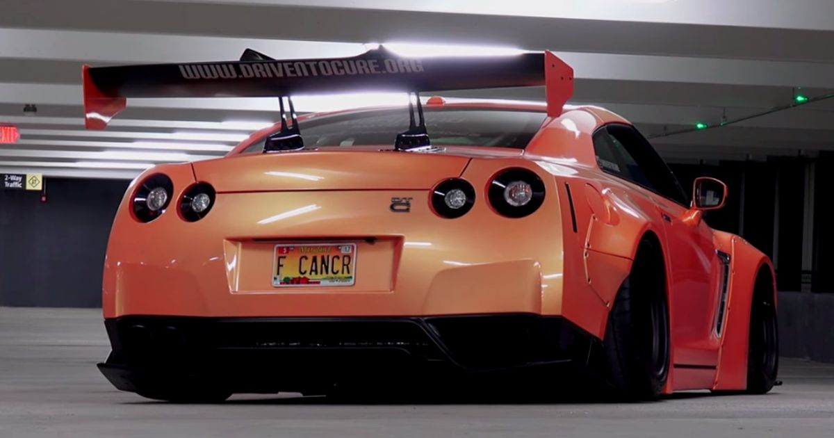 This Inspirational Guy Uses A Nissan GT-R To Raise Awareness Of His Rare Terminal Illness