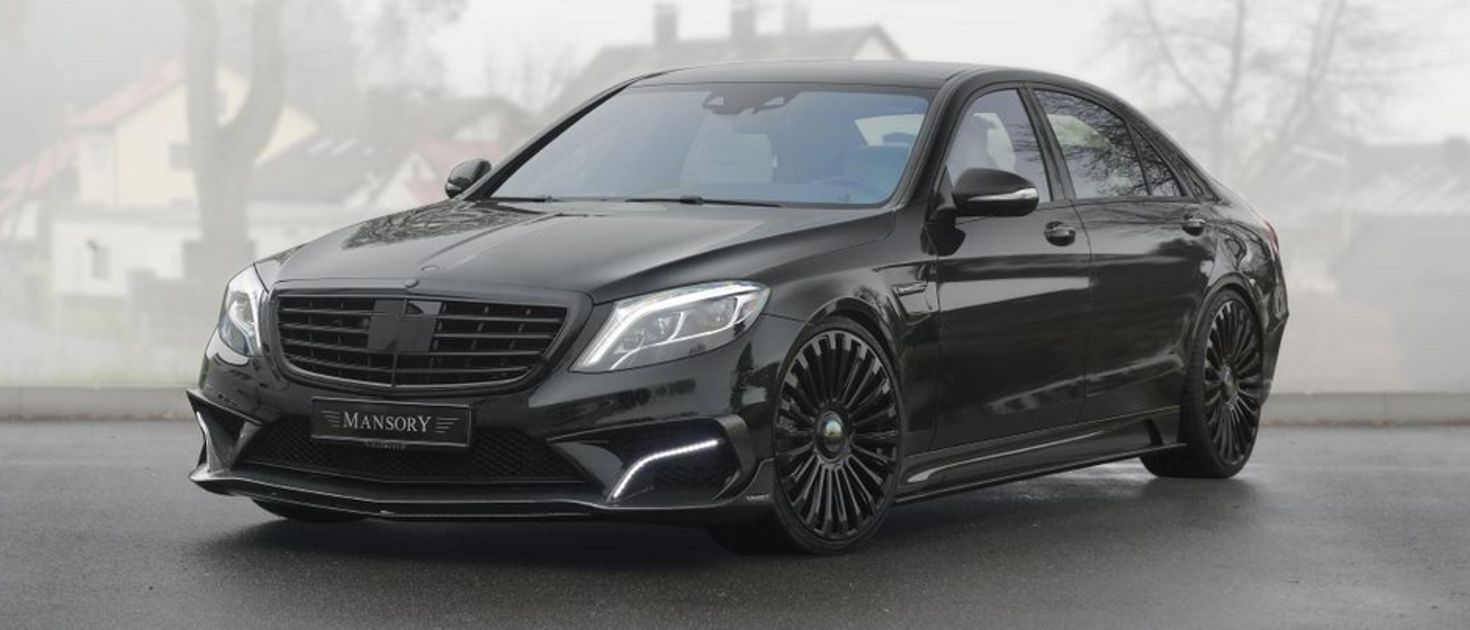 The Mansory S63 Amg Is 1000hp Of Evil Luxury Limo