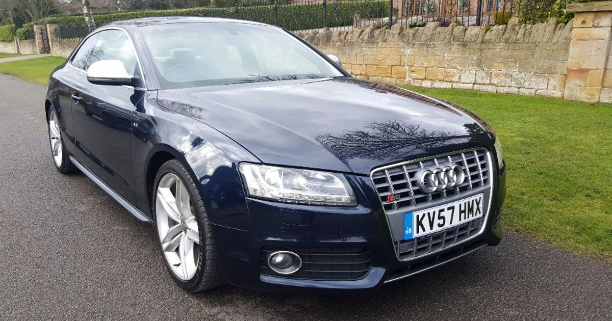 This Manual Audi S5 Is A Handsome V8 Bruiser For The Price Of A Ford