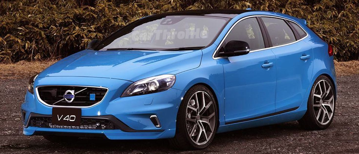 Volvo Wants To Enter The Mega Hatch Game With A 315bhp V40