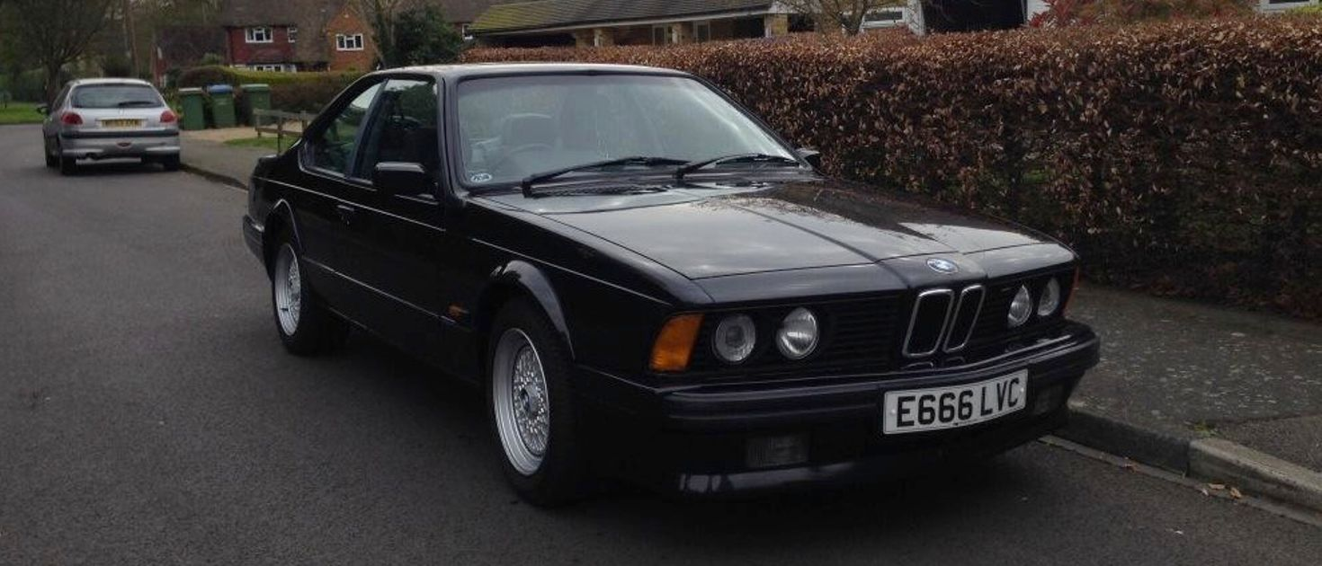An E24 Bmw 635 Csi Is The Coolest Thing You Can Spend 5000 On